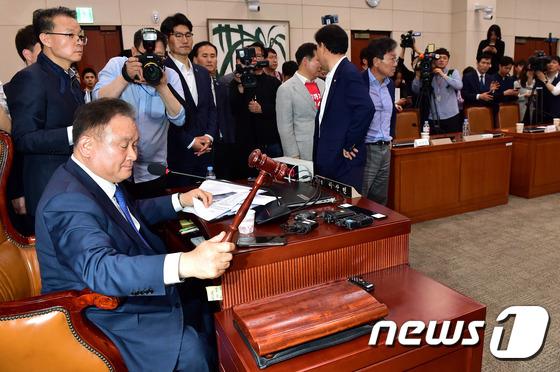 이상민 '사개특위 패스트트랙 통과'