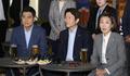 맥주회동 발언하는 나경원 원내대표