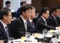 금융권 관계자 만난 주형철 신남방정책위원장