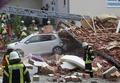 [사진] 가스 폭발로 폭삭 무너진 獨 건물과 파손된 자동차
