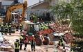 [사진] 獨 가스폭발 현장 출동한 소방관과 구조대원들