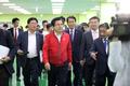 인천 기업 찾은 황교안 자유한국당 대표