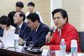 인천 중소기업 대표들 만난 황교안