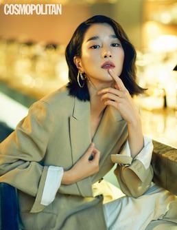 [N화보] 서예지, 팜므파탈 변신...매혹적 드레스+슈트 완벽 소화