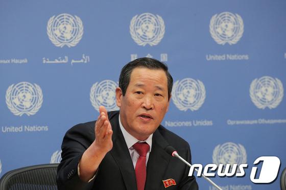 김성 北유엔대사 \