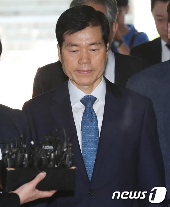 삼성바이오 김태한 대표 영장심사…삼성바이오 수사 \'윗선 길목\'