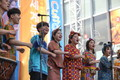 아름다운 전통공연 펼치는 서울세계문화엑스포 참가자들
