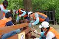 호반사랑나눔이 봉사단, 서울대공원 환경 정비 봉사활동