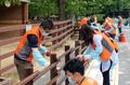 서울대공원 찾아 봉사활동 펼치는 호반호텔&리조트 임직원들