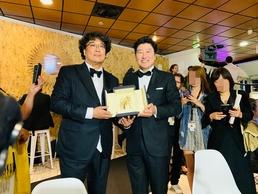 """[N칸현장] 봉준호 감독 """"황금종려상, 초현실적...판타지 영화 같아""""(직격..."""