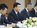 경찰청 찾은 왕샤오홍 중국 공안부 상무부부장