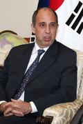외교부 찾은 토마스 오헤아 킨타나 UN 북한인권 특별보고관