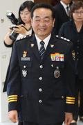 '안심서울 선포식' 참석하는 원경환 서울지방경찰청장
