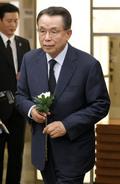 반기문 위원장 어머니 빈소 찾은 한승수 전 총리