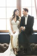 서유리♥최병길 PD, 웨딩화보 첫 공개…달달 예비부부