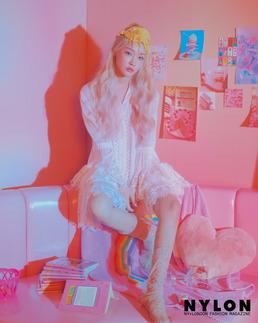[N화보] '컴백' 청하, 금발 변신...몽환+신비 소녀