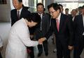 중앙보훈병원 방문한 황교안 자유한국당 대표