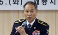 취임사하는 초대 세종지방경찰청장