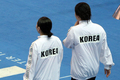 입장하는 김수지·조은비