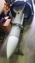 [사진] 이탈리아 극우세력 근거지서 압수한 미사일