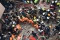 [사진] 印 100년된 건물 붕괴로 최소 4명 숨지고 40여명 매촐