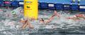여수 오픈워터 수영...'치열한 경쟁'