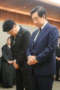 빈소 찾은 자유한국당 장제원-김성태 의원