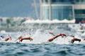 여자 오픈워터 수영 5㎞ '치열한 경쟁'