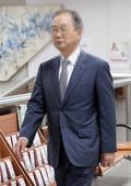 법정 향하는 최도석 전 사장