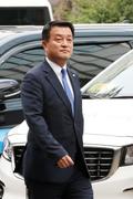 경찰서 향하는 윤준호 더민주 의원