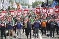 민주노총 총파업 '최저임금 1만원 공약 파기 반발'