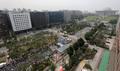 '국회 앞에서 열린 민주노총 총파업 대회'