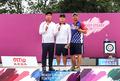 양궁 이승윤·김우진, 프레올림픽서 나란히 金·銀