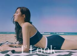 [N화보] 한채아, 수영복 화보 공개...섹시미+탄탄한 보디라인