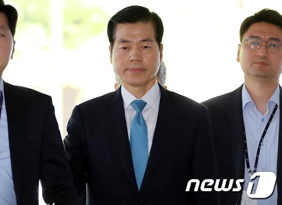 김태한 삼성바이오로직스 대표이사, 영장실질심사 출석