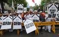 농산물값 폭락에 성난 농심 '청와대 앞에서 구호'