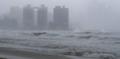 '태풍 다나스' 성난 파도