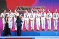 은메달 수상하는 중국 인어들
