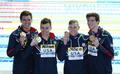 미국, 계영 400m 금메달