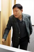 경사노위 운영위 참석하는 이성경 한국노총 사무총장