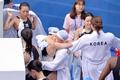 여자 수구대표팀 '이렇게 헤어지고 싶지 않아'