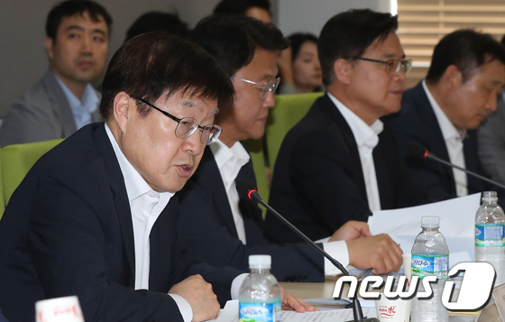 모두발언 하는 김영주 무역협회장