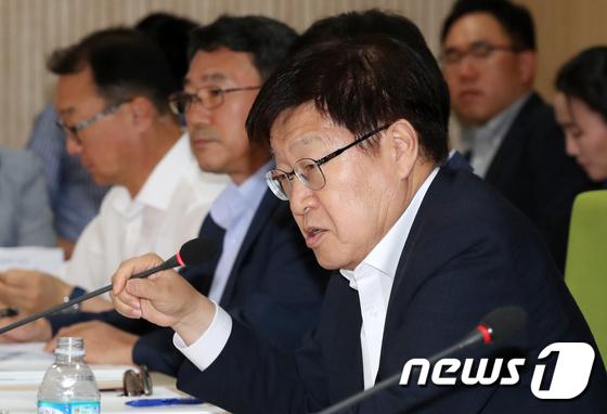 김영주 무역협회장, 신남방비즈니스연합회 참석