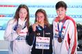 여자 1500m 자유형 '우린 메달리스트'