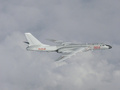 한국방공식별구역 침범한 중국 H6 전략폭격기