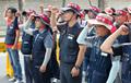 총파업 선포하는 건설노조 전기분과 노조원들