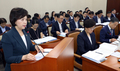국회 복지위 제안설명하는 이의경 식약처장