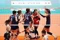 한국여자배구 '오늘도 승리한다'