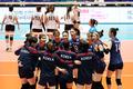 한국 여자배구 대표팀 '홍콩에 3대 0 승리'