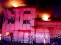 인천 철 구조물 제작 공장 화재